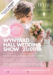 Belle Bridal Love&Luxe Wedding Show at Wynyard Hall