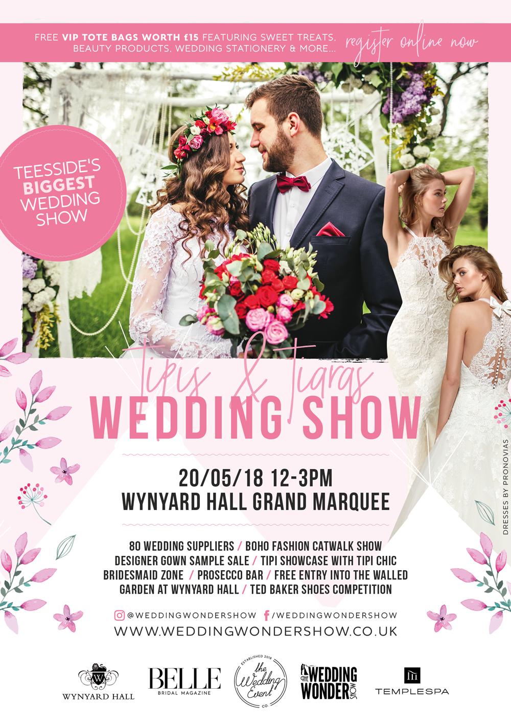 Wynyard Hall Wedding Show - 20th May 2018
