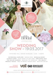 Wynyard Hall Wedding Event Poster